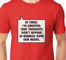 Bubbles Over Our Heads Unisex T-Shirt