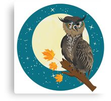 Wise Owl 2 Canvas Print