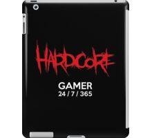 Hardcore gamer iPad Case/Skin