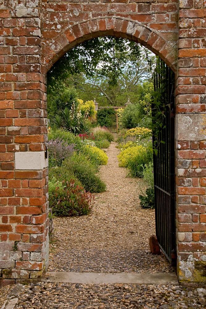 Walled garden by Jennifer Bradford