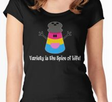 Parody: Variety is the Spice of Life! (Pansexual) Women's Fitted Scoop T-Shirt