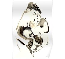 Gorilla mother Poster
