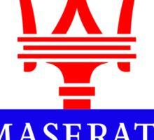 Maserati Sticker