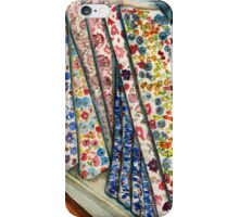 Fabric Bolts at Liberty of London iPhone Case/Skin