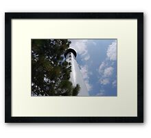 Hunting Island Lighthouse Framed Print