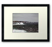 Wild Coast Framed Print