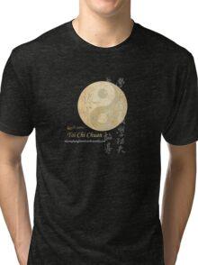zhen wei academy tai chi yan yang Tri-blend T-Shirt