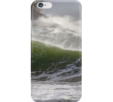 Spindrift in Green iPhone Case/Skin