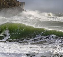 Spindrift in Green by Mark Haynes Photography