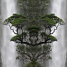 Waterfall Mirror by Simone Riley