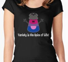 Parody: Variety is the Spice of Life! (Bisexual) Women's Fitted Scoop T-Shirt