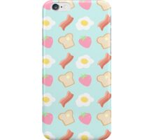 Cute Breakfast Pattern iPhone Case/Skin