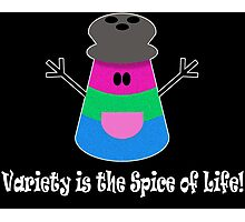 Parody: Variety is the Spice of Life! (Polysexual) Photographic Print