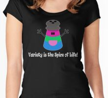 Parody: Variety is the Spice of Life! (Polysexual) Women's Fitted Scoop T-Shirt