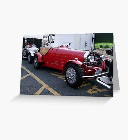 1927 Bugatti Greeting Card