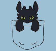 Pocket Toothless Baby Tee