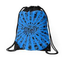 Vintage Grunge Ray Lights Drawstring Bag