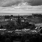 Castle view Edinburgh by Vincent Lamb