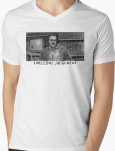 I Welcome Judgement Mens V-Neck T-Shirt