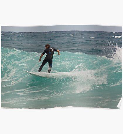 Surfer, Snapper Rocks, 28112010 #2 Poster