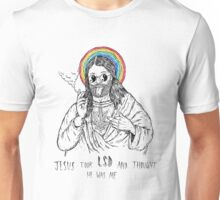 Bad Jesus :( Unisex T-Shirt