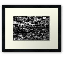 Where to look? Framed Print
