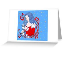 Winter Dove Greeting Card