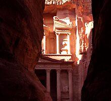 Khasneh - Petra, Jordan by Laliibeans