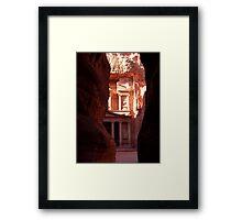 Khasneh - Petra, Jordan Framed Print
