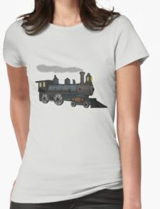 Steam Train (2) Womens Fitted T-Shirt