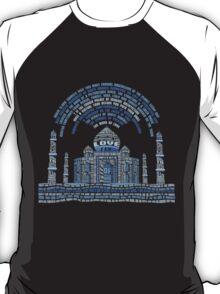 TAJMAHAL TYPOGRAPHY T-Shirt