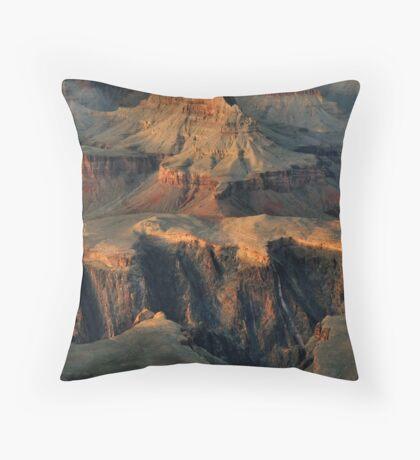 Grand Canyon Alpenglow Throw Pillow