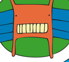 Monster Coat of Arms - Part of the 'Hungry Monsters Collection' Sticker