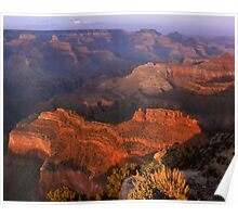Grand Canyon At Twilight Poster
