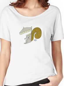 Scooter the Squirrel - Part of the 'Hungry Monsters Collection' Women's Relaxed Fit T-Shirt