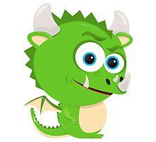 Cartoon Dragon by Emir Simsek