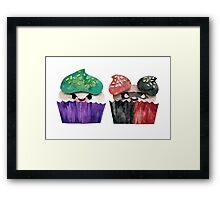 Baked Bad Guys (Joker & Harley) Framed Print