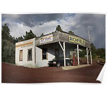 Route 66 Filling Station Poster