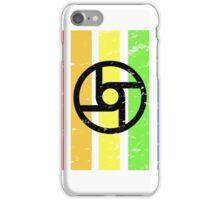 TrueColor-Transportation-Black iPhone Case/Skin