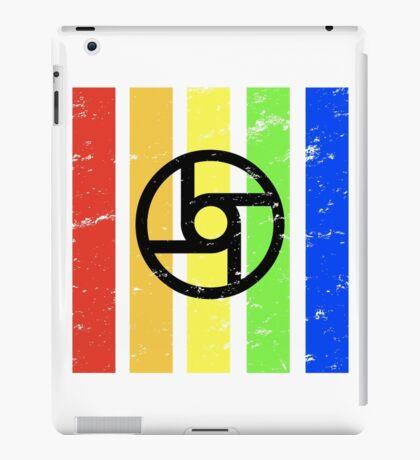 TrueColor-Transportation-Black iPad Case/Skin