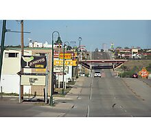 Route 66 - Santa Rosa, New Mexico Photographic Print