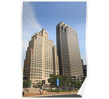 St. Louis Skyscrapers Poster