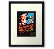 Super Mario Brothers Duck Hunt T-Shirt Framed Print