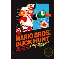 Super Mario Brothers Duck Hunt T-Shirt Photographic Print