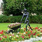 Sculpture in Strathaven, Scotland by ElsT