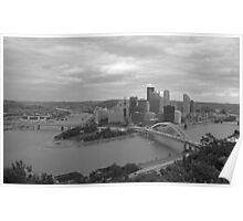 Pittsburgh - View of the Three Rivers Poster