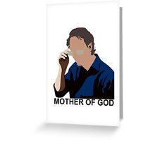 Mother of God Greeting Card