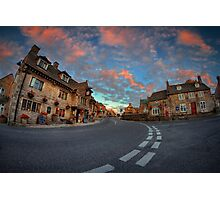 Corfe Castle Village ... Photographic Print