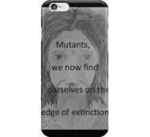 Charles Xavier iPhone Case/Skin