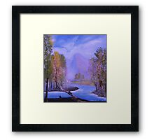 a lovely day Framed Print